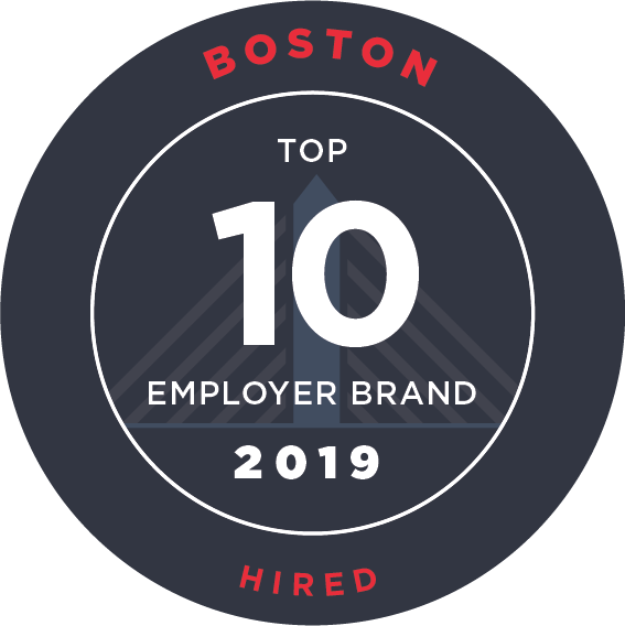 Hired Top 10 Boston Employer Brands