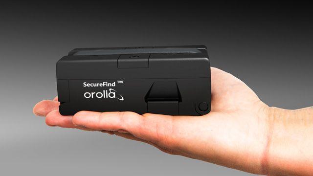 Orolia's SecureFind™ combat rescue beacon.