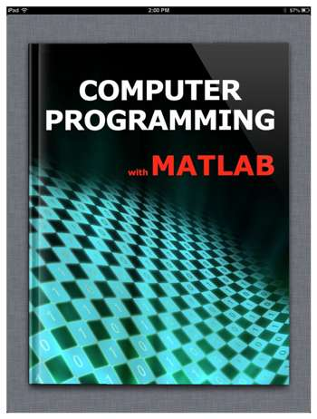 Computer Programming With Matlab Ebook