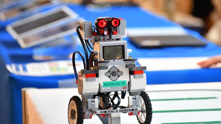 Roboter am Demostand