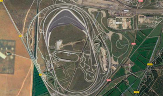 Abbildung 2: Das BMW-Testgelände in Miramas, Frankreich.