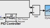 Dieses Beispiel zeigt das Sollwertverfolgungsverhalten des geschlossenen Regelkreises mit diesem anfänglichen PID-Design. (Kein Audio)