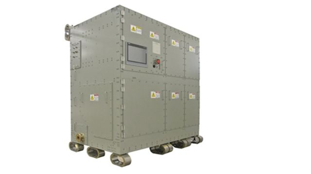 Full Scale Version of a Power Conversion System Analyzed In Real-Time