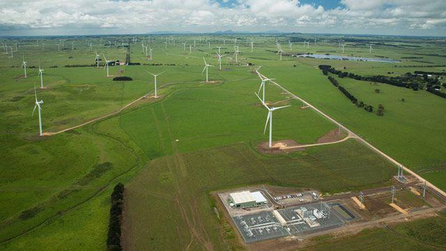 Vestas turbines and power plant control.
