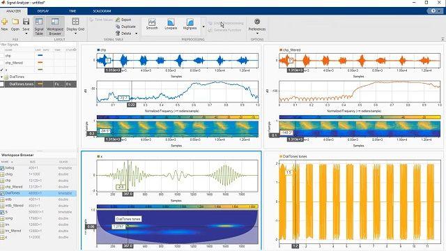 Lernen Sie, wie Sie mit der Signal Analyzer App Signalanalyseaufgaben wie Vorverarbeitung, Filterung und Merkmalsextraktion in MATLAB durchführen können.