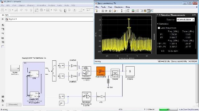 Model Power Amplifiers to include non-linearity and memory effects. Develop and verify adaptive DPD algorithms for complete communication systems including the Digital Signal Processing and RF sections.