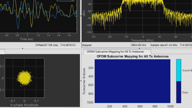 Design and simulate the physical layer of communications systems using Communications Toolbox.