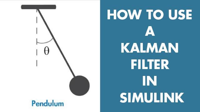 Schätzung der Winkelposition eines einfachen Pendelsystems mit einem Kalmanfilter in Simulink. Sie erfahren, wie Kalmanfilterblockparameter wie Systemmodell, Schätzungen des Anfangsstatus und Eigenschaften des Rauschens zu konfigurieren sind.