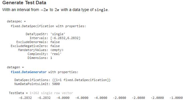 Datengenerierungs-APIs.