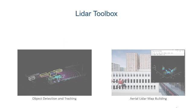 Design, Analyse und Test von LiDAR-Verarbeitungssystemen mit der LiDAR Toolbox.