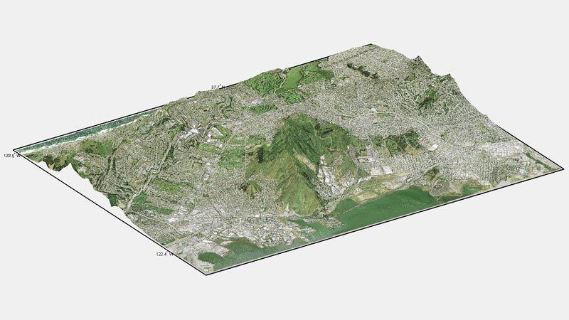 Gelände- und Höhenanalyse