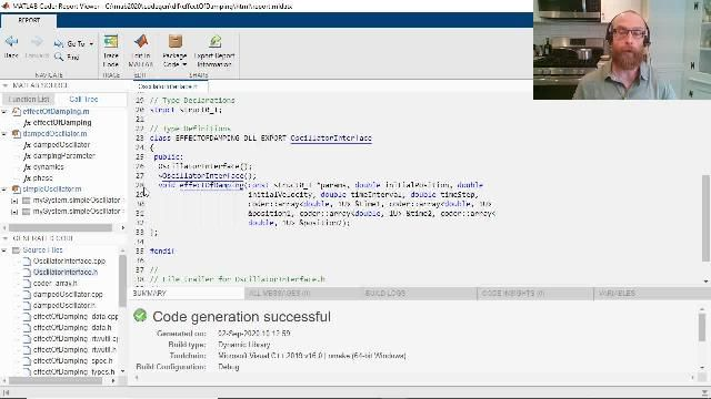 Erfahren Sie, wie Sie mit MATLAB Coder aus MATLAB Programmcode objektorientierten C++ Code erzeugen. Die Funktionen umfassen die Generierung von C++ Klassen und Namensräumen, Ausnahmensicherheit und dynamischen C++ Arrays.