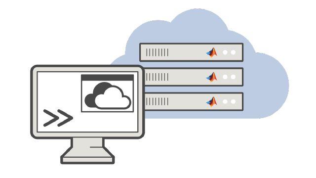 Es stehen mehrere Optionen für die Skalierung des Parallel Computing auf Cluster in der Cloud zur Verfügung.