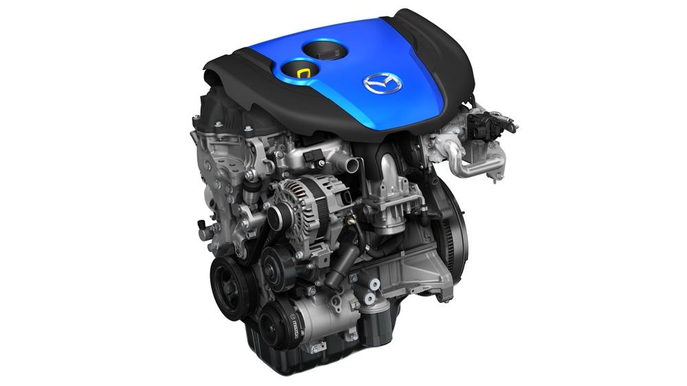 Der SKYACTIVE-D-Motor von Mazda.