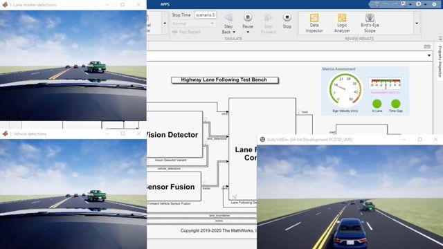 Die Model Predictive Control Toolbox bietet Funktionen, eine App und Simulink-Blöcke für den Entwurf und die Simulation von Reglern mit linearer und nichtlinearer Model Predictive Control (MPC).