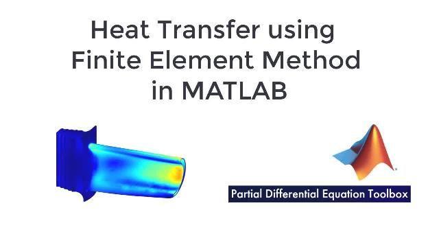 Lernen Sie, wie Probleme bei der Wärmeübertragung mit der Finite-Elemente-Methode in MATLAB mithilfe der Partial Differential Equation Toolbox gelöst werden können.