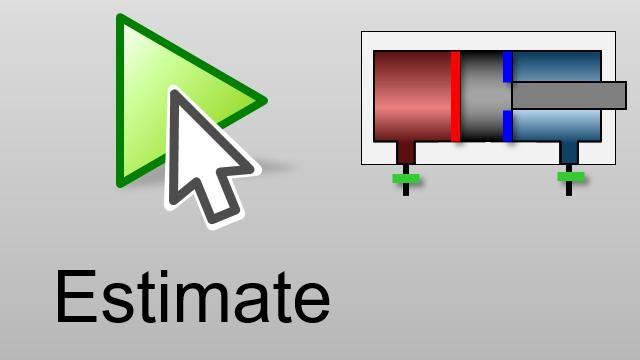 Automatische Optimierung von Parametern, bis die Simulationsergebnisse den Messwerten entsprechen. Optimierungsalgorithmen werden genutzt, um realistische Parameterwerte für ein Simscape-Fluids-Modell zu ermitteln.