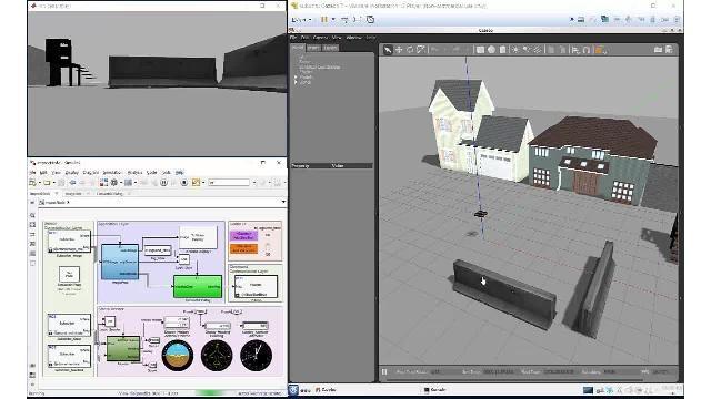 Simulieren und verifizieren Sie autonome Algorithmen mit der Robotics System Toolbox, der ROS Toolbox und Gazebo