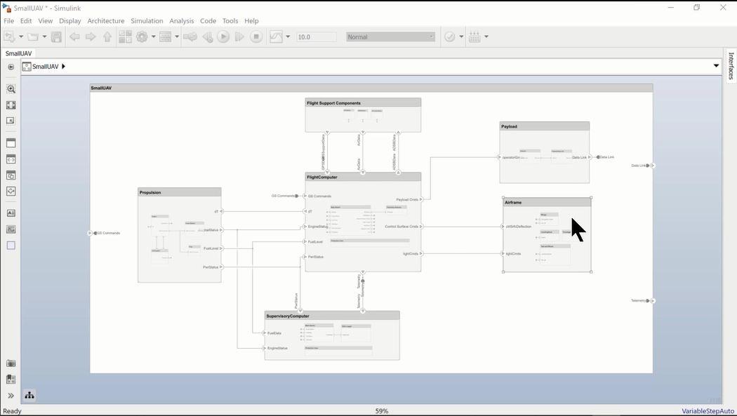 Das Video zeigt, wie Sie automatisch Schaubilder erstellen, die einzelne Komponenten und ihre Konnektivität hervorheben.