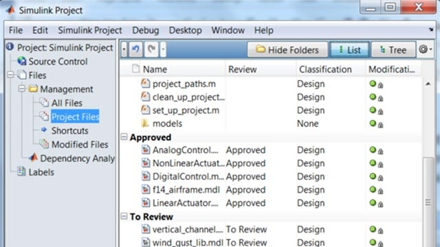 Teamarbeit mit Model-Based Design