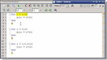 This video shows how to fix common errors in MATLAB when indexing into a vector or matrix in a for loop.