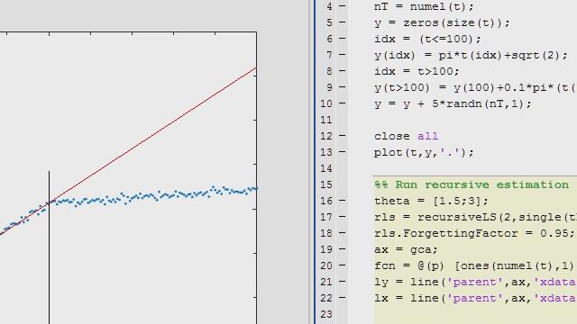 Implement and deploy recursive estimators with MATLAB Compiler or MATLAB Coder.