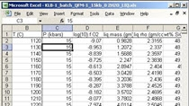 It was pretty easy to read in the data with XLSREAD.