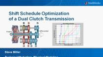 In this webinar we will demonstrate how to automatically tune the shift schedule for an automotive transmission using optimization algorithms. Using a dynamic model of a dual-clutch transmission that uses measured data to estimate fuel economy, opti
