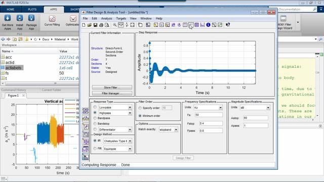 Learn how to make joint use of the signal processing and machine learning techniques available in MATLAB to develop data analytics for time series and sensor processing systems