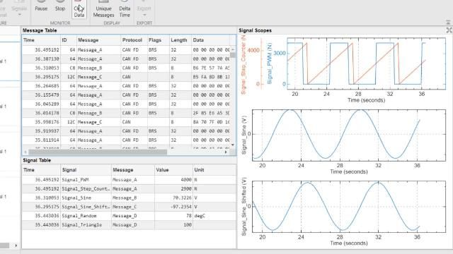 Understand how to apply CAN Bus technology to vehicle network systems. Use MATLAB, Simulink, and Vehicle Network Toolbox to design, simulate, and interface with a CAN Bus.
