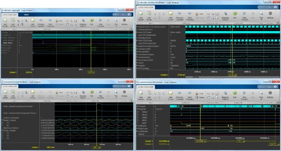 Logic Analyzer in DSP System Toolbox