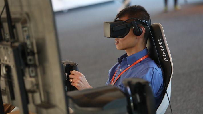 Démo de simulation virtuelle