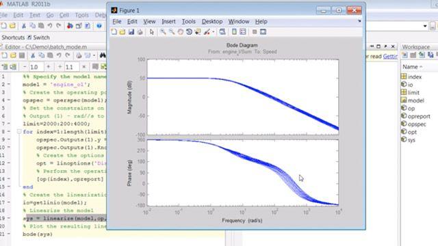 Créez un script de recherche de points de fonctionnement et de linéarisation des modèles Simulink en mode batch.