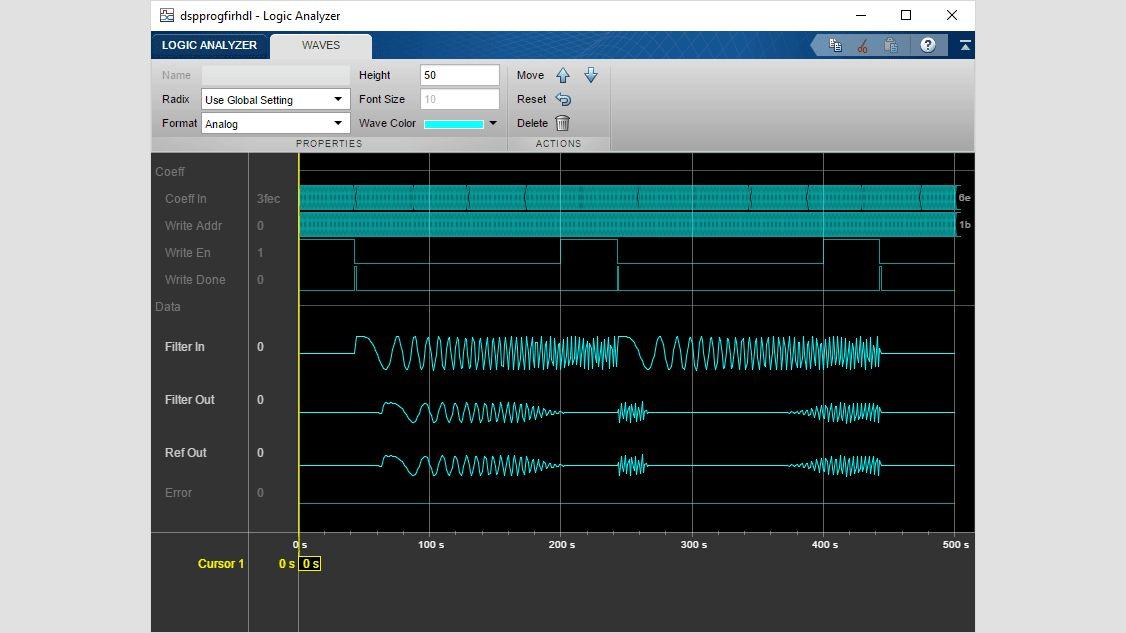 Structure d'un filtre FIR systolique partiellement en série