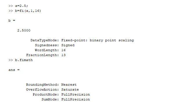 Un type de données virgule fixe et ses propriétés.