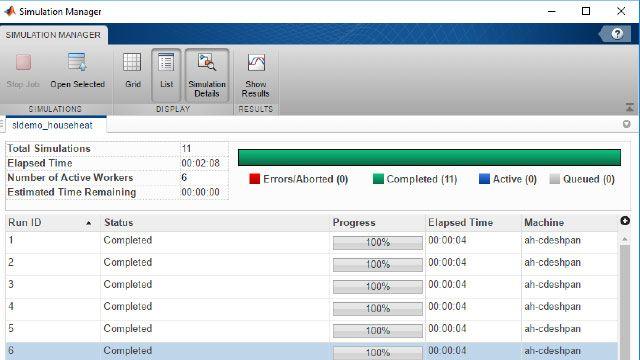 automatisez la gestion de plusieurs simulations Simulink
