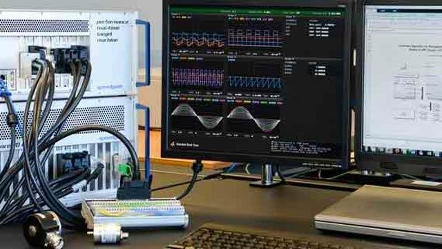 Matériel Speedgoat pour le prototypage rapide et la simulation hardware-in-the-loop.