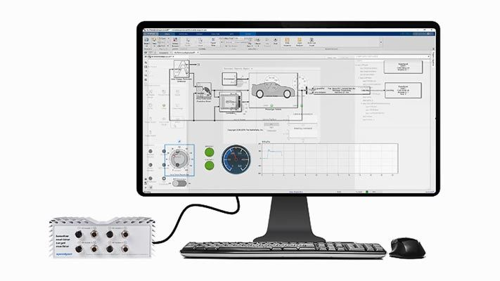 Vous pouvez concevoir des applications avec App Designer afin d'ajuster les paramètres et de contrôler les signaux des applications temps réel qui s'exécutent sur un ordinateur cible Speedgoat. Découvrez comment les objets instruments simplifient la collecte de données.