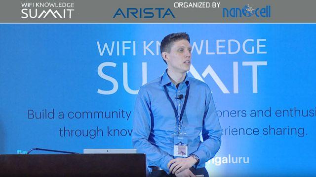 Présentation de Colin McGuire au WiFi Knowledge Summit sur la modélisation du standard IEEE 802.11ax