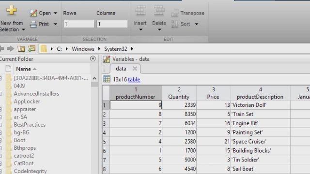 Cette présentation de l'application Database Explorer couvre le flux de travail principal qui sert à explorer des données relationnelles sans avoir besoin de connaissances en SQL, à importer des données dans MATLAB, à effectuer des analyses dans MATLAB et à rendre les résultats reproductibles.