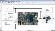 Apprenez à utiliser MATLAB et Simulink pour modéliser, simuler et prototyper des systèmes de commande sur appareils Cyclone V SoC.