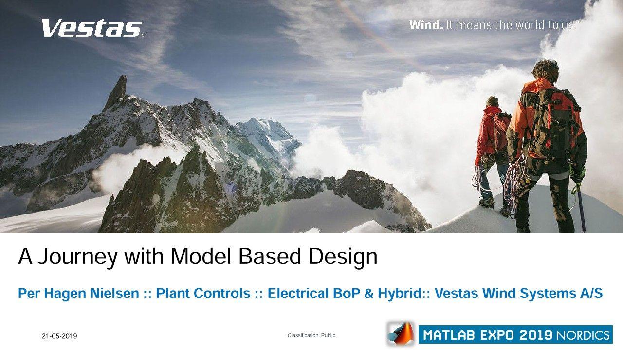 Solutions pour centrales hybrides Vestas : un parcours avec le Model-Based Design