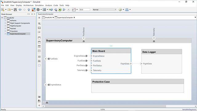 Découvrez comment créer un modèle comportemental Simulink à partir d'un composant System Composer et comment créer un composant System Composer à partir d'un modèle Simulink existant.