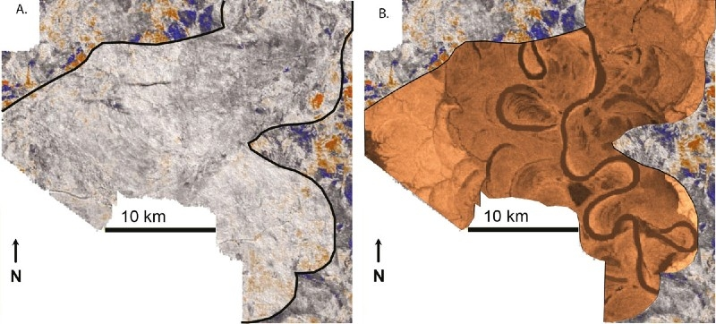 Image du sismogramme original et amélioré