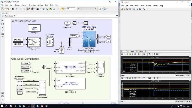 Ce webinar explique comment utiliser SimscapeElectrical pour évaluer la performance d'un réseau d'alimentation à fort taux de pénétration d'énergie renouvelable.