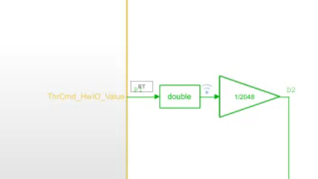 Partition and schedule models with the Export Function modeling style to integrate functions into your software environment easily and have a clear mapping from model to code.