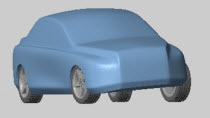 Model a vehicle in SimMechanics including a 3-D tire model. Run vehicle handling, comfort, and vibration tests using Delft-Tyre from TNO Automotive.
