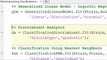 Learn how machine learning tools in MATLAB can be used to solve regression, clustering, and classification problems.