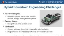A hybrid electric powertrain has better fuel economy and less impact on the environment, compared to a powertrain using traditional gas or diesel. As a result, the electrification of the powertrain has become an important trend in the automotive and