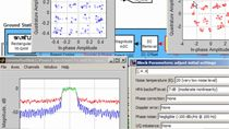 Use Simulink to model a RF communications link in a satellite communications system.